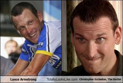 Lance Armstrong Totally Looks Like Christopher Eccleston, The Doctor