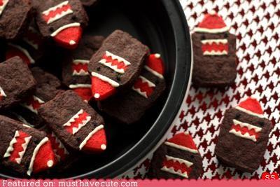 chocolate,christmas,cookies,domo,epicute