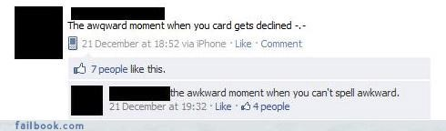 busted,facepalm,make your own fail,The Spelling Wizard,yikes,your friends are laughing at you