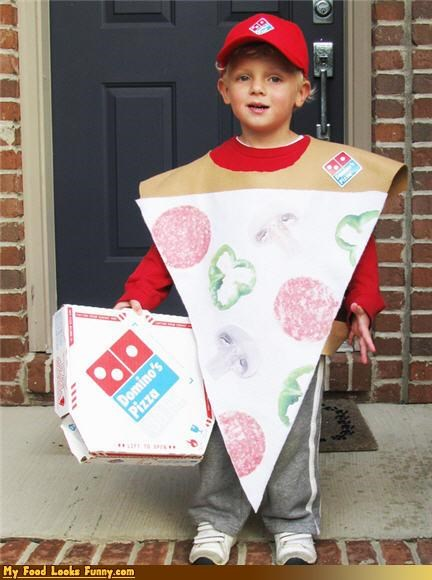 Funny Food Photos - Pizza Costume