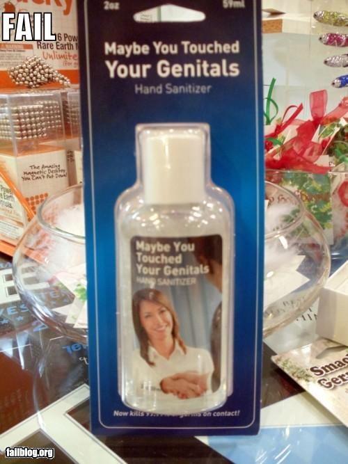antibacterial,bad idea,failboat,gel,gross,name,product name
