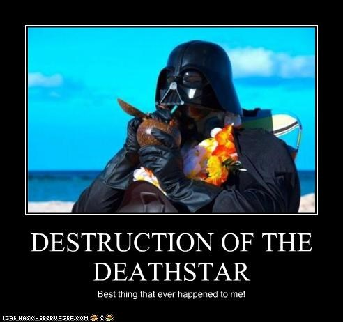 DESTRUCTION OF THE DEATHSTAR