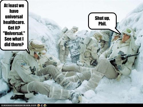 Tough Crowd On Hoth...