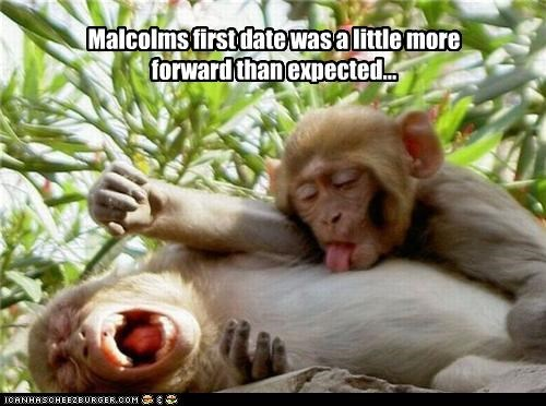 Malcolms first date