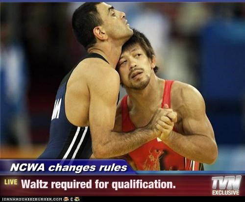 NCWA changes rules - Waltz required for qualification.