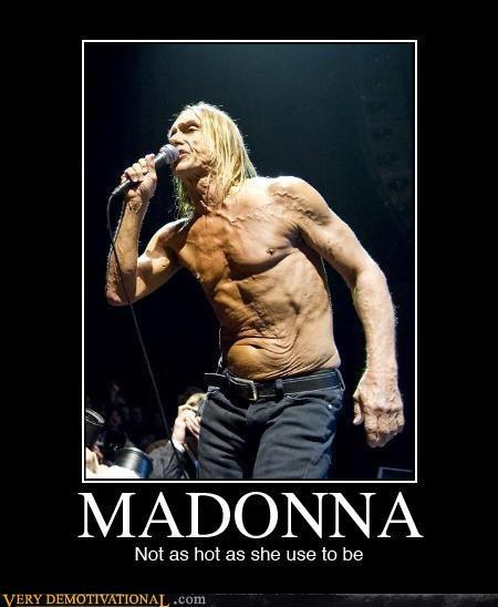 celeb,iggy pop,Madonna,not quite right,punk