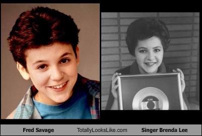 Fred Savage Totally Looks Like Singer Brenda Lee