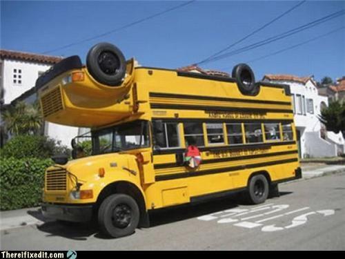 frankenstein,school buses,wtf