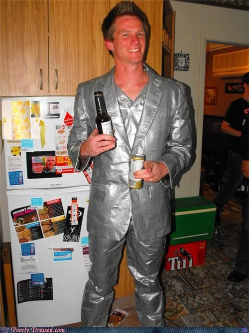 double fisting,duct tape,nice,Party,suit