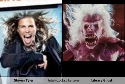 Steven Tyler Totally Looks Like Library Ghost