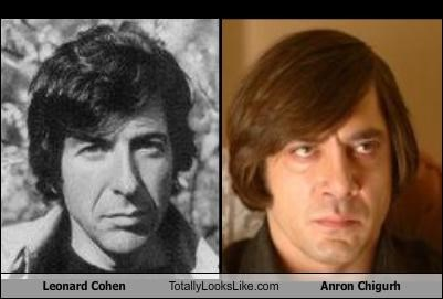 Leonard Cohen Totally Looks Like Anron Chigurh