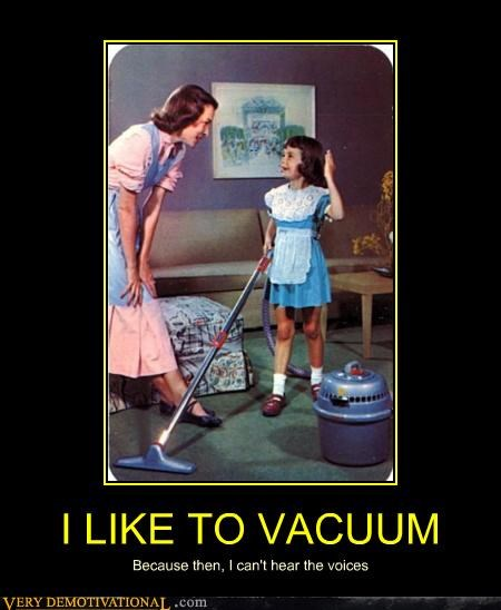 I LIKE TO VACUUM