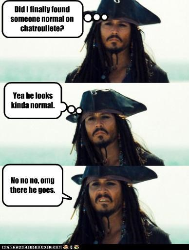 Chat Roulette: Nothing But Pirates And Perverts