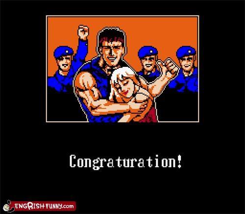 engrish,video game,win