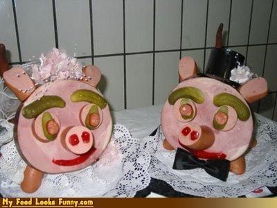 faces,ham,pickles,pig,wedding