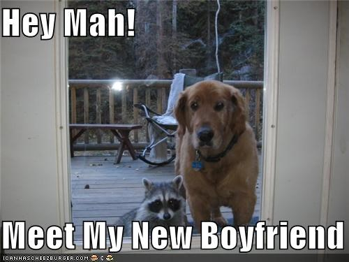 Hey Mah!  Meet My New Boyfriend