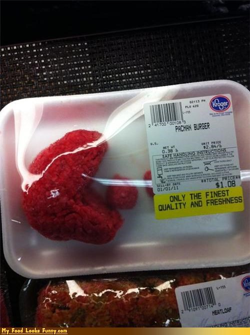 Funny Food Photos - Pac-Man Ground Beef