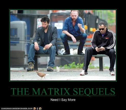 THE MATRIX SEQUELS