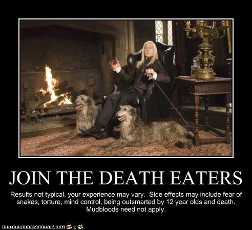 JOIN THE DEATH EATERS