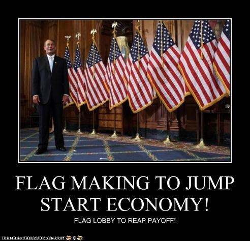 FLAG MAKING TO JUMP START ECONOMY!