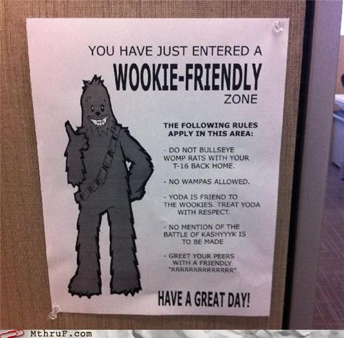 Also, Let The Wookie Win!