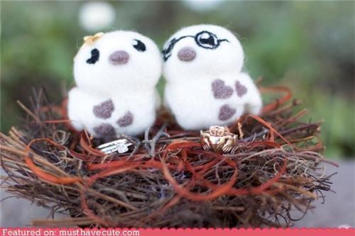 Felty Love Birds