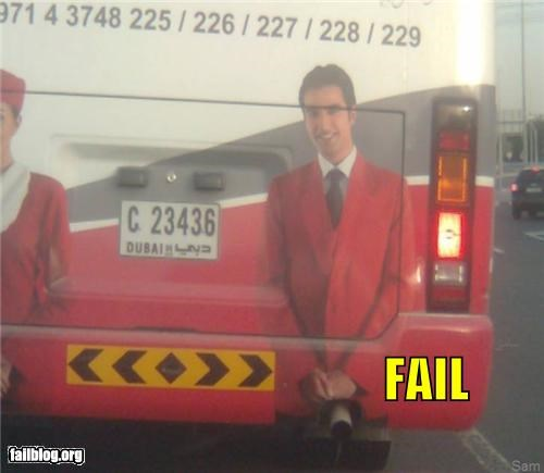 Bus Exhaust Fail