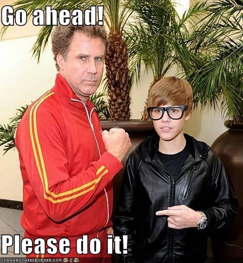 Go ahead!  Please do it!