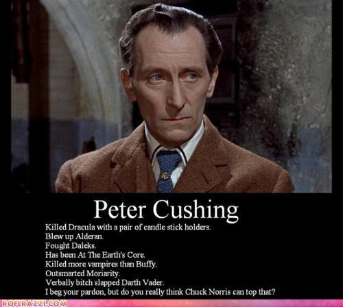 Peter Cushing: BAMF