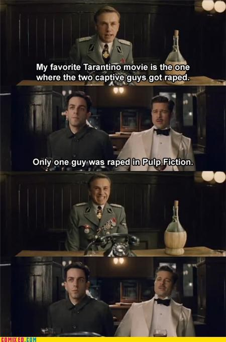 A Cut Scene from Inglorious Basterds