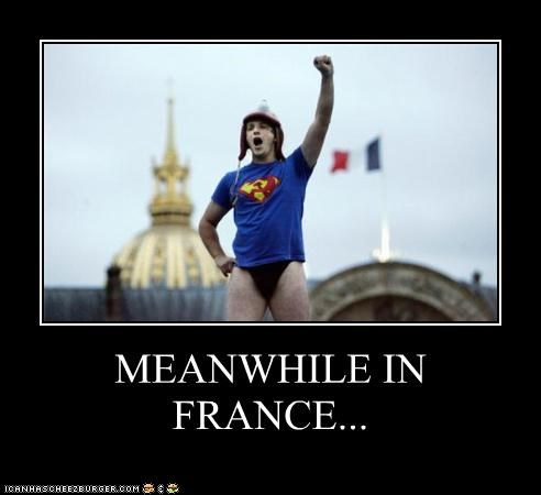 I See London, I See France... Blah Blah Predictable Hilarity!