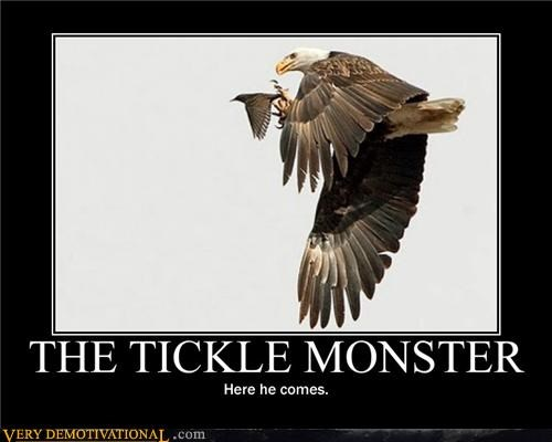 THE TICKLE MONSTER