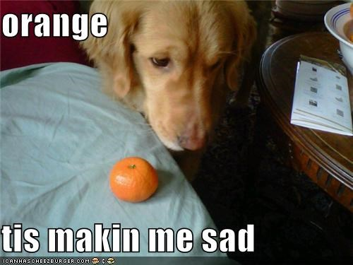 orange  tis makin me sad