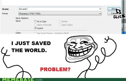 Troll Saves The World!