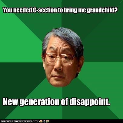 Hgh Expectations Asian Dad: A New Generation.