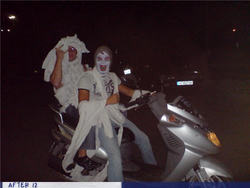 drunk driving,scary,scooter,white,wtf