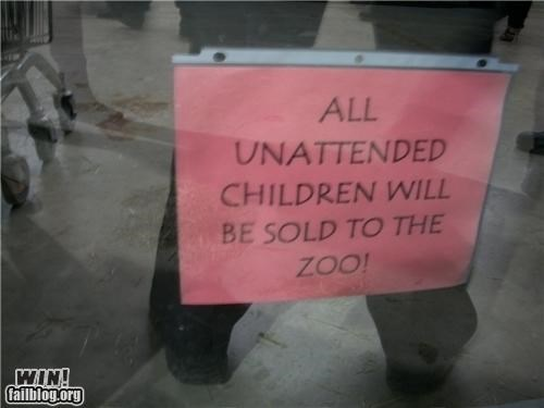 Unattended Children WIN
