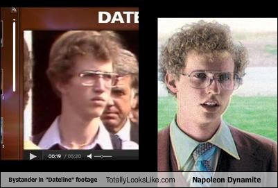 "Bystander in ""Dateline"" footage Totally Looks Like Napoleon Dynamite"