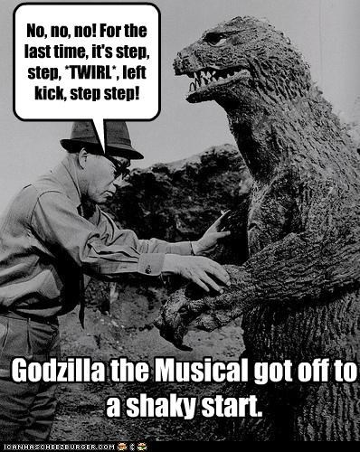 Godzilla: The Musical Was A Bad Idea