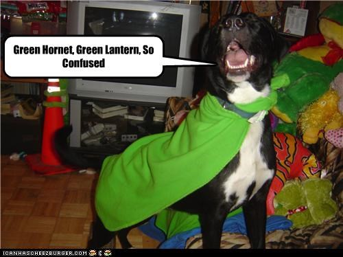 Green Hornet, Green Lantern, So Confused