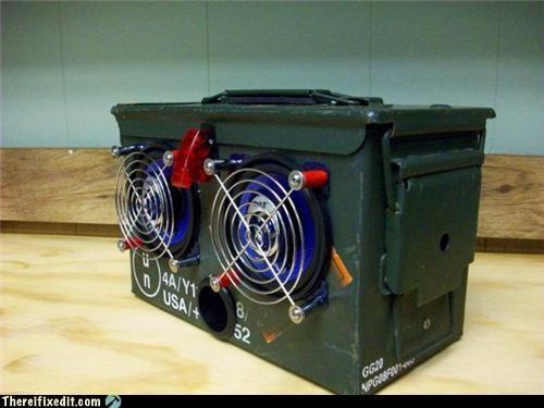 clever,creative,guns,radio,stereos
