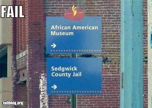CLASSIC: Racist Sign FAIL