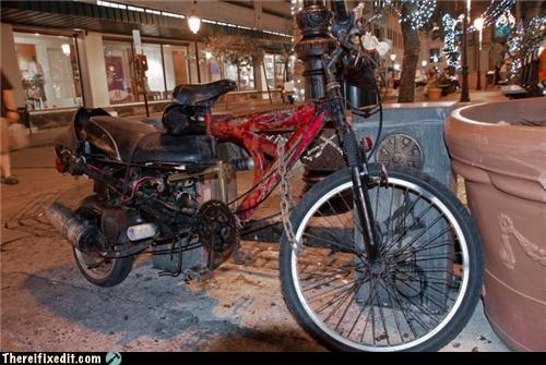 It's a Bike! It's a Scooter! It's Scooterbike!