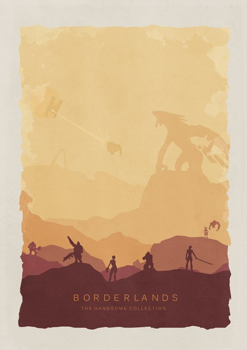 deviantARTist Lewis Dowsett Has Created Some Awesome Alternative Posters for Video Games
