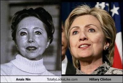 Anais Nin Totally Looks Like Hillary Clinton