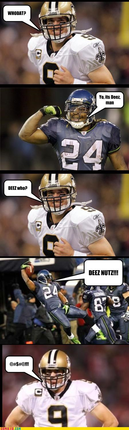 football,new orleans,seattle,sports,TV,who dat
