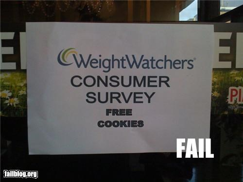 cookies,failboat,g rated,irony,signs,weight loss