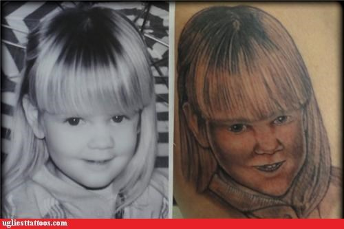 bad,kids,portraits,tattoos