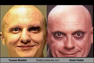 Tucson Shooter Totally Looks Like Uncle Fester