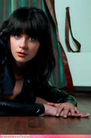 Zooey Deschanel: Can't Tell If Shoop...